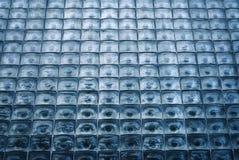 Fönster av glass kuber Arkivbild