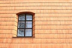Fönster av kyrkan av den mest heliga Treenighet fotografering för bildbyråer