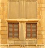 fönster för 01 par Fotografering för Bildbyråer