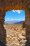 fönster för 2 rock Fotografering för Bildbyråer