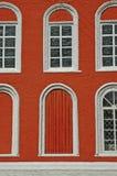 fönster för båge sex arkivfoto