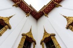 Fönster för buddistisk kloster Arkivfoto