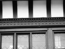 Fönster för detalj för Chester byggnadscheshire tudor blyade Royaltyfri Bild