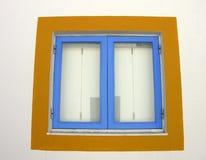 fönster x för detaljmalagueirafjärdedel fotografering för bildbyråer