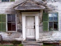fönster för främre sikt för dörr royaltyfria bilder