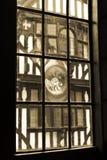 fönster för gammal stil Arkivbilder