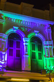 Fönster för garneringbelysningklassiker Royaltyfri Fotografi