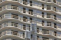 fönster för hus för garage för framdel för konstruktionsdetaljdörr Arkivfoton