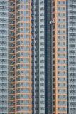 fönster för stigning för delar för rengöringsmedel högt Arkivbilder