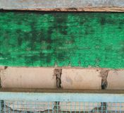 fönster för textur för bakgrundsdetalj trägammalt Arkivbild