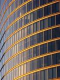 fönster för uk för stadslondon kontor Royaltyfri Foto