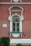 Fönster i cellen av den Donskoi kloster Arkivbild