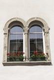 Fönster i Kaltern Royaltyfri Fotografi