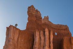 Fönster i klipporna Arkivfoton