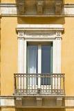 Fönster i Ragusa Arkivfoto