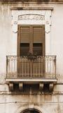 Fönster i Ragusa Royaltyfria Bilder