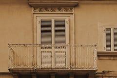 Fönster i Ragusa Royaltyfri Fotografi