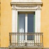 Fönster i Ragusa Arkivbilder