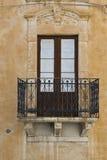 Fönster i Ragusa Arkivbild