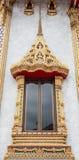 Fönster i tempel Royaltyfri Bild