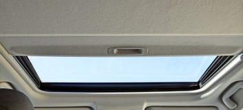 Fönster inom bilen Fotografering för Bildbyråer