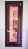 Fönster med Broken exponeringsglas Royaltyfria Foton