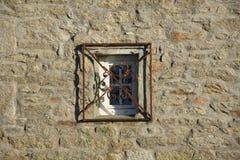Fönster med galler Royaltyfri Foto