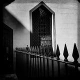 Fönster och staket Royaltyfri Fotografi