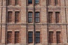 Fönster och vägg, bakgrund. arkivfoto