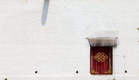 Fönster på en vägg Royaltyfria Foton
