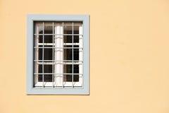 Fönster på ett traditionellt hus av Aten Royaltyfri Bild