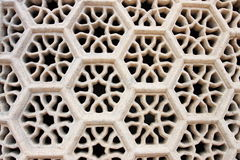 fönster på gravvalvet av ITMAD-UD-DAULAH Royaltyfri Fotografi