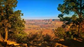 Fönster till Grandet Canyon arkivbilder