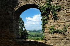 Fönster till skyen Royaltyfri Fotografi