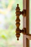 Fönsterhandtag Arkivbilder