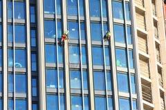 Fönsterrengöringsmedel Royaltyfri Fotografi