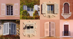 Fönsteruppsättning Arkivbilder