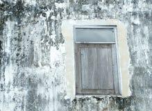 Fönstervägg med smuts Royaltyfria Foton