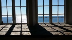 Fönsterwiew arkivbilder