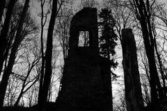 Fönstret på tornet Arkivfoton
