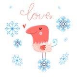 Förälskad fågel Royaltyfri Fotografi