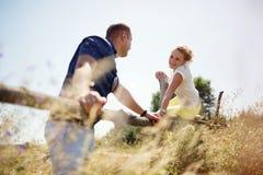 Förälskade par, Royaltyfri Fotografi