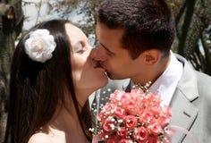 förälskat för par som nytt att gifta sig royaltyfri foto