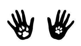 Förälskelse Animals.Vector vektor illustrationer