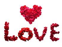 Förälskelse av hjärta Arkivbild