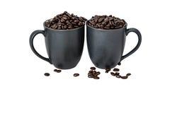 Förälskelse av kaffe Arkivbilder