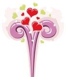förälskelse för 02 springbrunn Stock Illustrationer