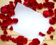 förälskelse för kuverthjärtabokstav Royaltyfri Fotografi