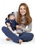 Förälskelse för moder`s Royaltyfria Foton