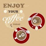 Förälskelse för textur för kaffeblommabakgrund romantisk royaltyfri illustrationer